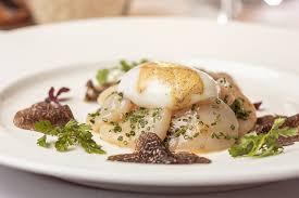 italian white truffle scallop carpaccio recipe food n chef