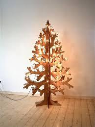 make alternative christmas tree christmas lights decoration