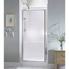 pivot glass door sterling standard pivot shower door 950c 24s do it best