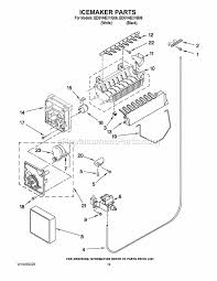 whirlpool ed5vhexvb06 parts list and diagram ereplacementparts com