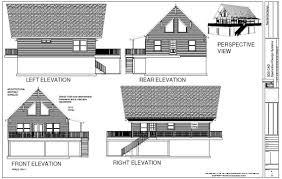 cabin plan 28 u0027 x 36 u0027 mountain cabin plan 1064 sq ft sds plans
