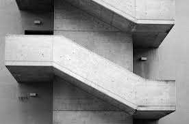 concrete stairs stock image image of architect leak 43770409