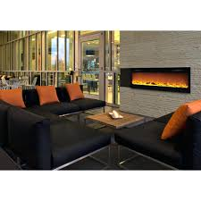 recessed electric fireplace reviews dimplex convex wall mount no