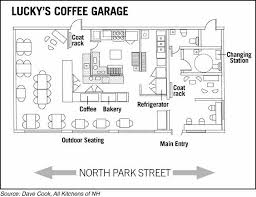 Bakery Floor Plan Design Valley News Developer Plans Cafe At Lebanon Auto Garage Site