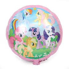 my pony balloons 50pcs 18inch 45cm my pony balloons birthday party helium foil