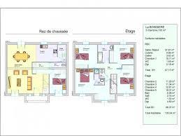 maison 5 chambres plan de maison 5 chambres etage