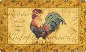 Round Rooster Rug Rooster Kitchen Rugs Rooster Rug
