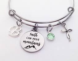 faith bracelets faith bracelet etsy