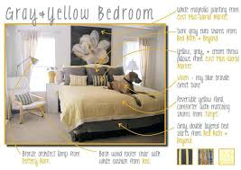 Yellow Bedroom Design Ideas Grey Yellow Bedroom Yellow And Gray Bedroom Intended For Grey