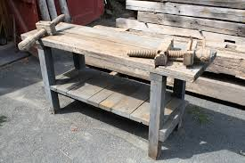 Woodworking Bench Vise by Antique Workbench Transformation Finewoodworking