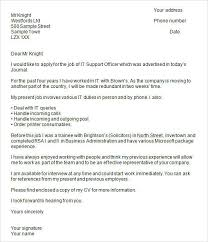 Resume Cover Letter Example Uk