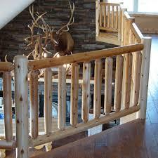 Indoor Railings And Banisters Log Railings