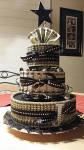 money cake designs black and gold money cake the use of 2 bills maybe