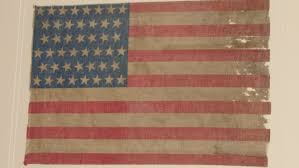 Americana Flags 45 Star Flag Spanish American War Era Sold Historical Americana