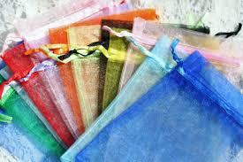 large organza bags organza bags 4x6 mixed colors organza 6x4 inches wedding favor bag