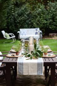 a backyard friendsgiving bsht table setting u2014 iron u0026 twine