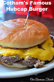 Backyard Burger Fayetteville Ar Cotham Mercantile Hubcap Burger In Scott Arkansas And Huge Onion