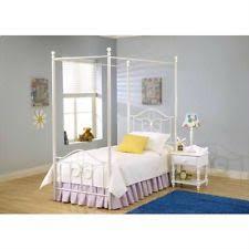 Metal Canopy Bed Frame Steel Canopy Beds Frames Ebay