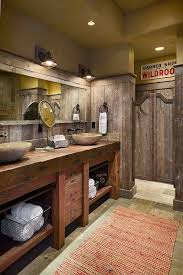 rustic cabin bathroom ideas best rustic cabin bathroom ideas on pinterest log home design 28