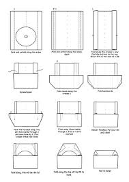 Origami Cd Cover - how to do an easy origami cd