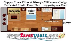photo tour of a studio at disney u0027s copper creek villas