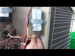 lennox condenser fan motor how to fixing my lennox air conditioner fan motor not working