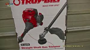 my new weed eater troy bilt tb35 ec youtube
