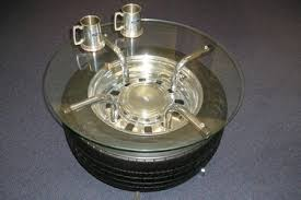 Car Wheel Coffee Table by Shannons Car Insurance