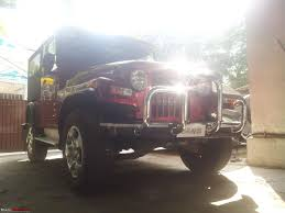 mahindra thar crde 4x4 ac modified chérie my pre owned mahindra thar crde 4x4 toreador red team bhp