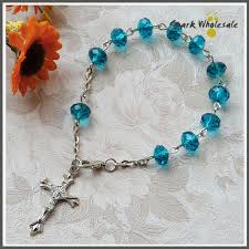confirmation favors 50pcs lot pretty rosary bracelet communion or