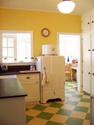 need retro linoleum floor for kitchen