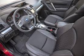 subaru forester interior 2015 2014 subaru forester 2 0xt review long term update 4 motor trend