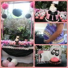 real asian beauty pink and black nail art