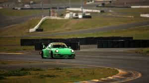 green racing porsche hd wallpaper 1920x1080 id 32372