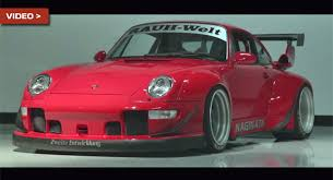 porsche 911 wide custom porsche 993 by rauh welt is widebody perfection
