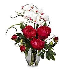 Silk Flower Centerpieces Faux Floral Arrangements Silk Flowers U0026 Faux Plants Bed Bath