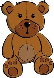 sitting bear clipart 27