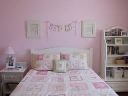 bedroom awesome white pink wood modern design interior teenage
