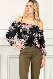 open shoulder blouse floral open shoulder blouse shop and now at papaya clothing