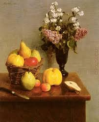 flowers and fruit henri fantin latour still with flowers and fruit painting