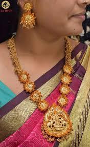 long flower necklace images Exclusive bahubali necklace anushka design set with original jpg