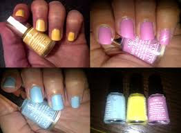 mavala nail colours delicious collection summery pastel shades