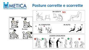postura corretta scrivania postura scorretta consigli per migliorarla metica