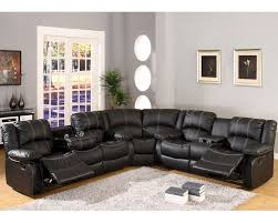 Recliners Sofa Sets Mcf Furniture Black Sectional Reclining Sofa Set Mcfsf3591