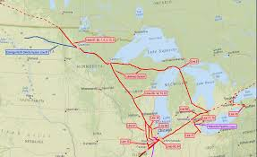 Map Of Michigan Lakes Environmentalists Blast Michigan Enbridge Pact Peoria Public Radio