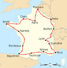 Road Map Of France 1907 tour de france wikipedia