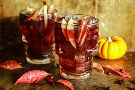 spiced apple cider pomegranate moscow mules by heather the