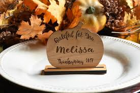 personalized thanksgiving place cards thanksgiving