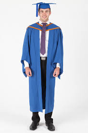 master s cap and gown masters graduation gown set for uow standard gowntown