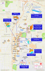 Las Vegas Hotel Map Las Vegas Map Free Hotel Attractions Times Schedule The Mirage